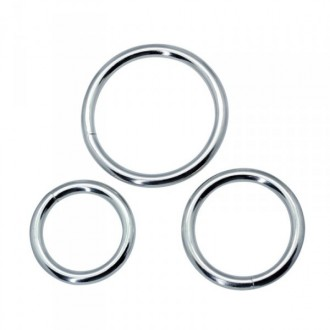 TIMELESS METAL COCK RINGS SET