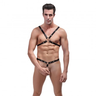 MALE POWER RIP OFF HARNESS SET BODY HARNESS