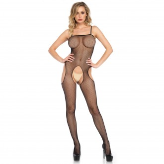 FISHNET BODYSTOCKING WITH OPENINGS ON THE HIPS