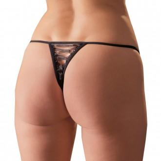 CROTCHLESS ROSE THONG