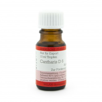 CANTHARIS D6 DROPS 10ML