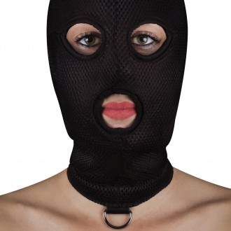 OUCH! EXTREME MESH BALACLAVA MASK BLACK