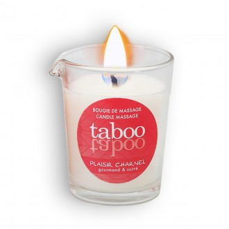 TABOO PLAISIR CHARNEL MASSAGE CANDLE FOR HER 60GR