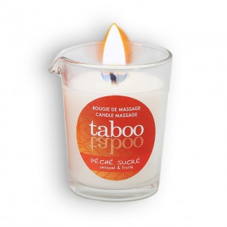 TABOO PÉCHÉ SUCRÉ MASSAGE CANDLE FOR HER 60GR