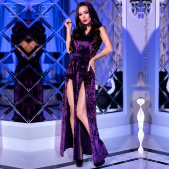 DRESS AND PANTY CR-4302 PURPLE
