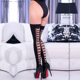 THIGH HIGHS CR-4316 BLACK