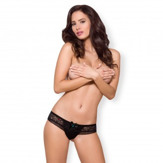 OBSESSIVE 867-PAN PANTIES BLACK