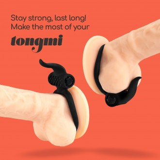 TONGMI SILICONE COUPLE VIBRATOR CRUSHIOUS