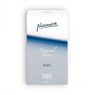 PHEROMONE PERFUME NATURAL SPRAY MAN 50ML