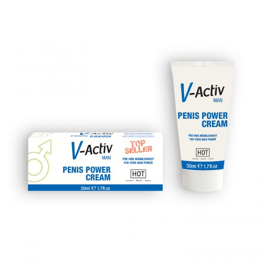 V-ACTIV PENIS POWER CREAM 50ML