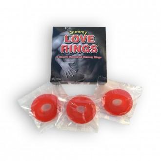 GUMMIE LOVE RINGS 3 PACK