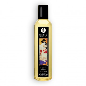SHUNGA MASSAGE OIL SENSATION LAVENDER 250ML