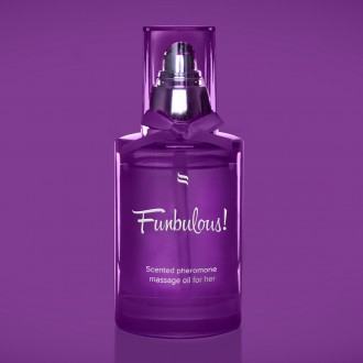 OBSESSIVE FUN MASSAGE OIL WITH PHEROMONES FOR HER 100ML