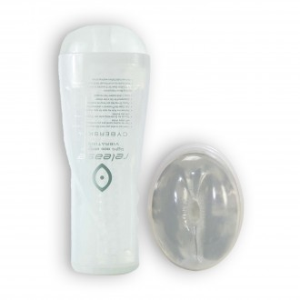 CYBERSKIN RELEASE TIGHT ASS STROKER CLEAR