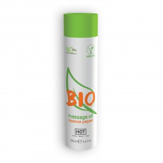 HOT BIO MASSAGE OIL CAYENNE 100ML