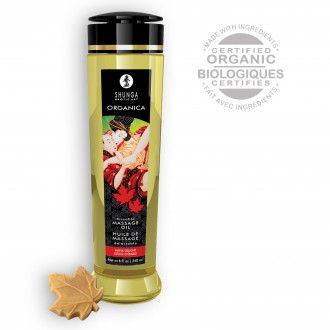 SHUNGA MASSAGE OIL ORGANICA MAPLE DELIGHT 240ML