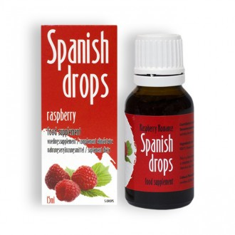 SPANISH FLY RASPBERRY ROMANCE DROPS 15ML