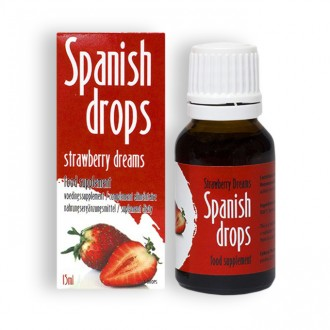 SPANISH FLY STRAWBERRY DREAMS DROPS 15ML
