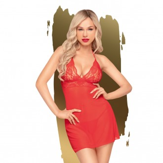 PENTHOUSE BEDTIME STORY BABYDOLL AND THONG RED
