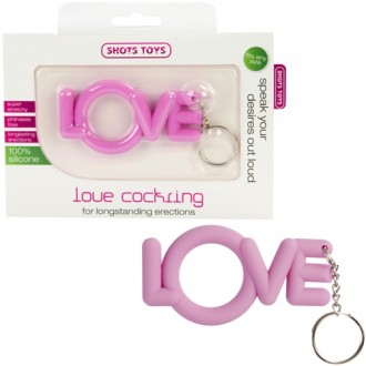LOVE COCKRING PINK