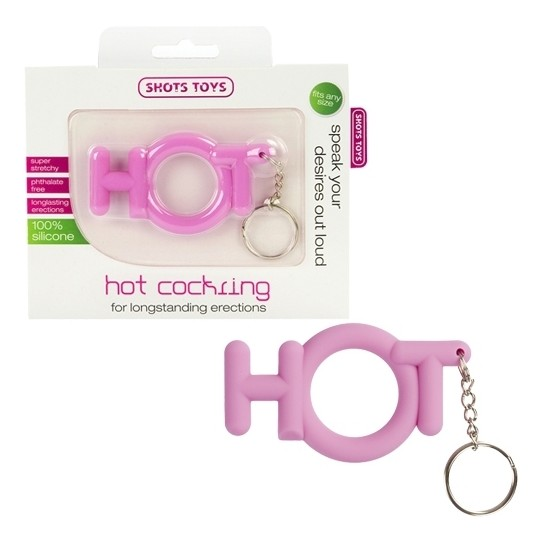 HOT COCKRING PINK