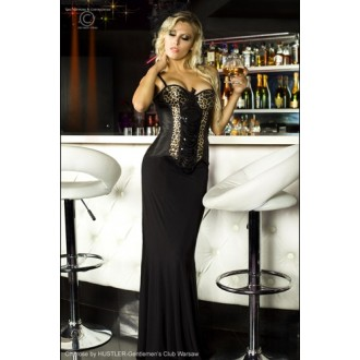 CORSET AND THONG CR-3403