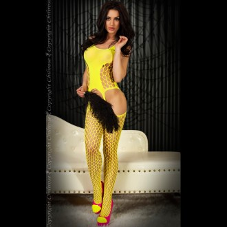 BODYSTOCKING CR-3282 YELLOW