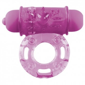 VIBRATING BULLET RING PURPLE