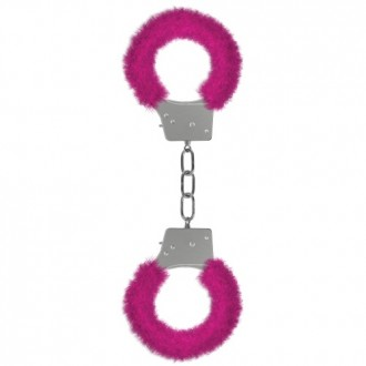 ESPOSAS CON PELUCHE BEGINNER'S FURRY HANDCUFFS ROSA
