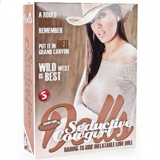 SEDUCTIVE COWGIRL LOVE DOLL