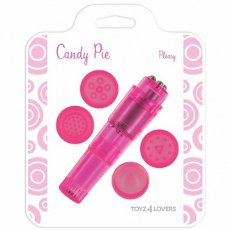 CANDY PIE PLEASY VIBRATOR PINK