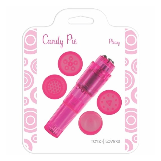 CANDY PIE PLEASY VIBRATOR PINK