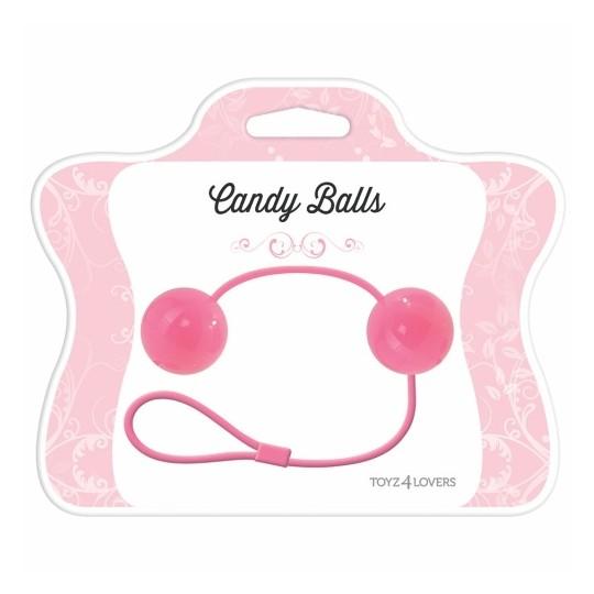 CANDY BALLS VAGINAL BALLS PINK