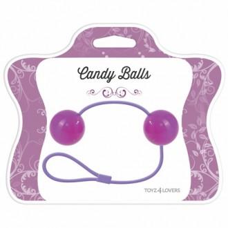 CANDY BALLS VAGINAL BALLS PURPLE