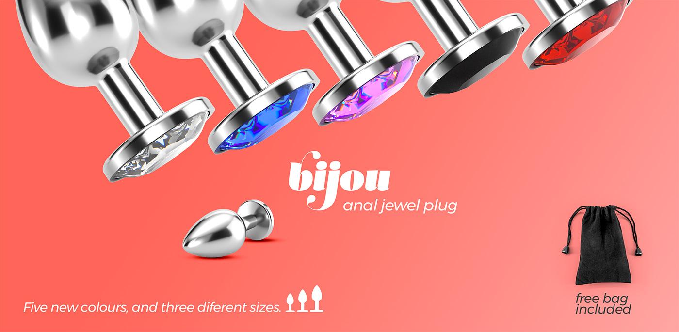 Bijou - anal jewel plug