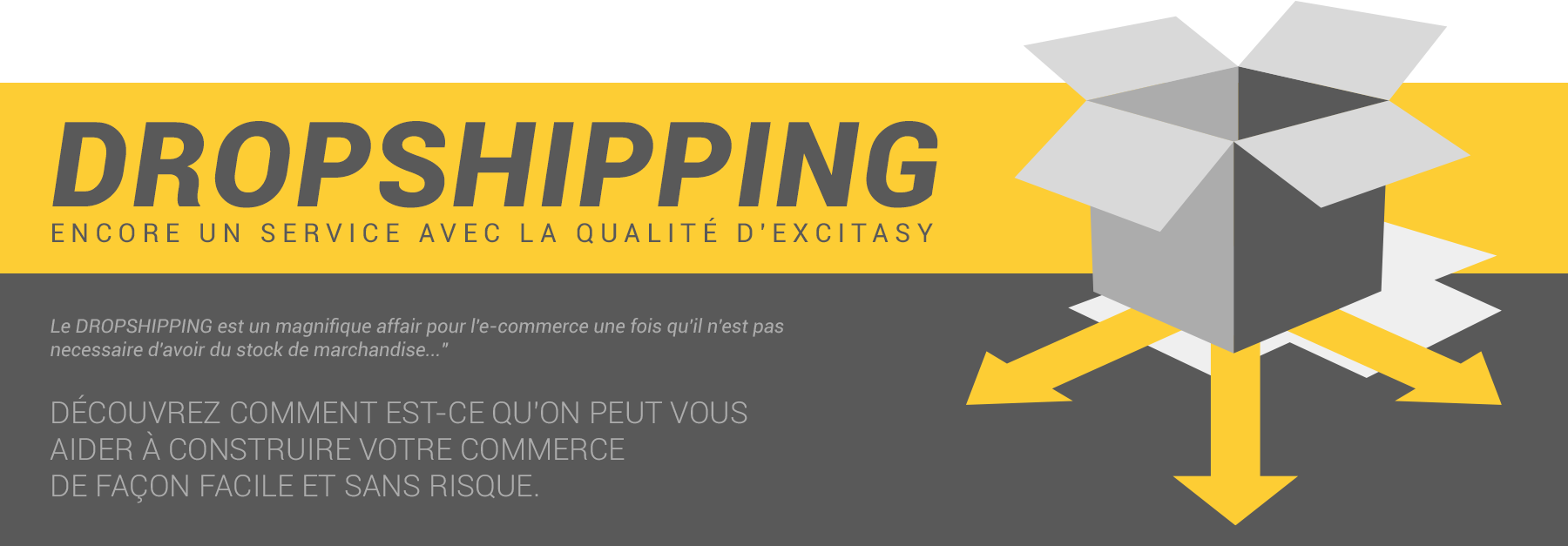 dropshipping by excitasy